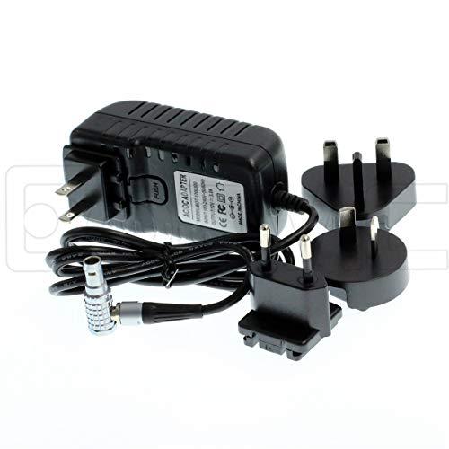 Eonvic - Cable Adaptador de Corriente de 2 Pines a AC Teradek con Conectores de la UE de los Estados Unidos