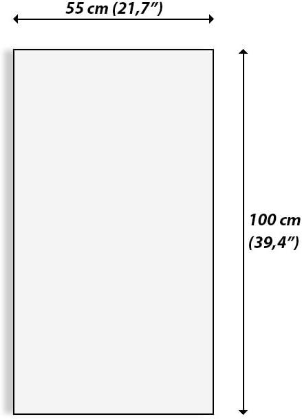 en un Marco Altura: 80cm de una Sola Pieza PA45x80-2828 Cuadro sobre Lienzo Foto n/úmero 2828 Listo para Colgar Impresi/ón en Lienzo Ancho: 45cm