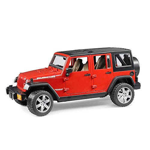 Bruder Jeep Wrangler Unlimited Rubicon - color may vary