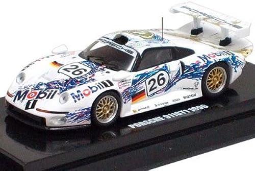 60% de descuento Original Original Original Kyosho 1 64 Porsche 911GT1 1996 LM No.26 (japan import)  el estilo clásico