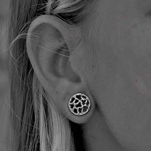 Ear Stretchers Scratched Silver Ear Plugs Ear Gauges,Gauge Earrings,Earlobe Stretched Earrings,Plug Tunnels,Gauge Jewellery Plug Earrings