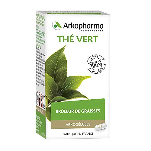 Arkopharma - Arkogelules - Thé Vert Camiline Bio - 100 % des actifs de la plante - Flacon 40 Gelules