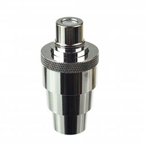 FlowerMate Mini Wasserfilter Adapter aus Edelstahl (m:14/18, w:10/14/18/19) + 2 Siebe *Nikotinfrei*