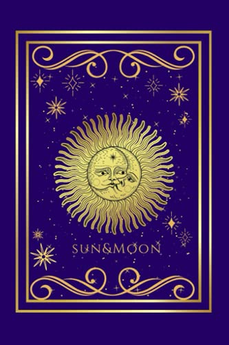 Sun and Moon Celestial Notebook, Astrology Journal: Boho Spiritual Diary For Modern Witch (Celestial Journal, Moon Phases and Sun Diary Notebook For Modern Witch)