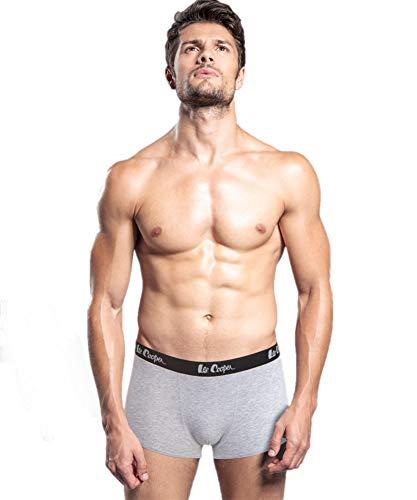 Lee Cooper Herren 2-er Pack Boxershorts, Grau, Regular