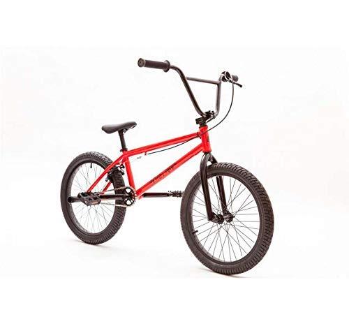 ZTBXQ Fitness Sport all'aperto Bici BMX da 20 Pollici per Principianti a Ciclisti esperti Cerchi in Lega di Alluminio Telaio in Acciaio al Carbonio ad Alto tenore di Carbonio e impugnature a U