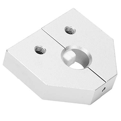 Conector de soldador de impresora 3D, conector de soldador de filamento de aluminio ligero para PC para PLA para HIPS