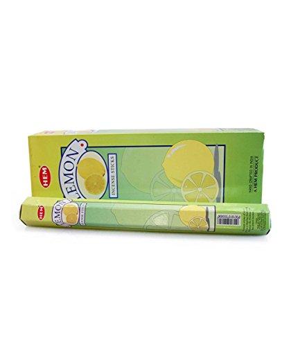 Incienso Limón Lemon Marca Hem 6Paquetes