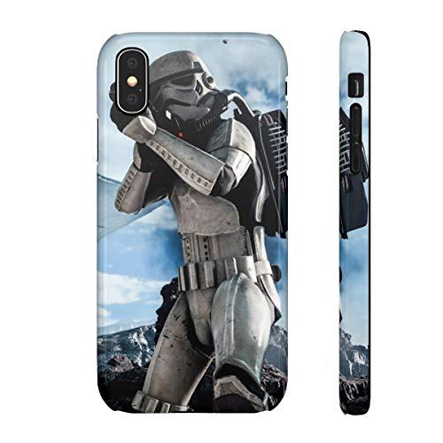 3D Handyhülle Jedi Star Wars kompatibel mit Apple iPhone 8 / 8s M9 Schutz Hülle Case Bumper glänzend