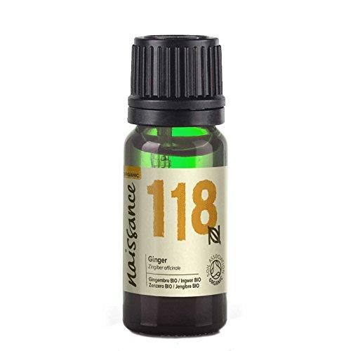 Naissance Jengibre BIO - Aceite Esencial 100% Puro - Certificado Ecológico - 10ml