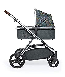 The flexible family unit, Wow XL has the capability, straight out of the box, to be used as a single child travel system (3-in-1) or as a double/tandem for an older sibling too, with no need to buy any extras (box includes: 1 x Carrycot and 1 x Seat ...