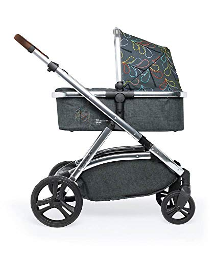 Cosatto Wow XL 3-in-1 Pram and Pushchair, Suitable from Birth - 25 kg, with Tandem Mode and Buggy Board- Nordik