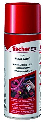 Fischer FTC-AL Fett Spray, 400 ml, für Kette, Getriebe, Kugellager, Pulegge etc - 519662