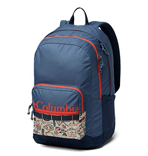 Columbia Unisex Zigzag 30l Backpack, Dark Mountain/Fossil Camp Supplies, One Size