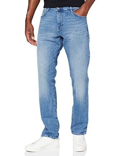 TOM TAILOR Herren Josh Regular Slim Jeans, 10280-light Stone wash den, 36W / 34L