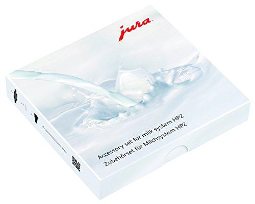 Jura 24116 Zubehörset für Milchsystem, Kunststoff, Klar