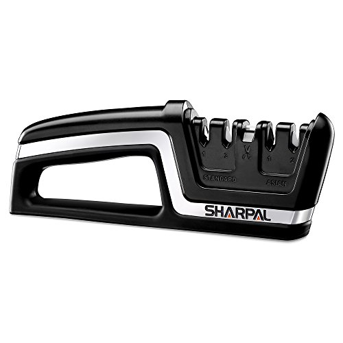 SHARPAL 104N Professional 5-in-1 Kitchen Chef Knife & Scissors...