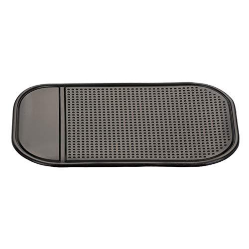 Monlladek Auto Armaturenbrett, Auto Armaturenbrett Sticky Pad Auto Gadget Silikonmatte Automobile Interieur Anti-Rutsch-Matte Universal Fahrzeugzubehör (schwarz)