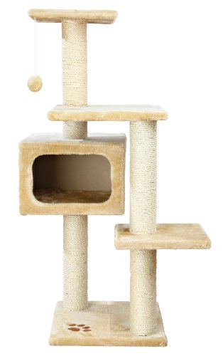 TRIXIE Pet Products Palamos Cat Tree, Beige