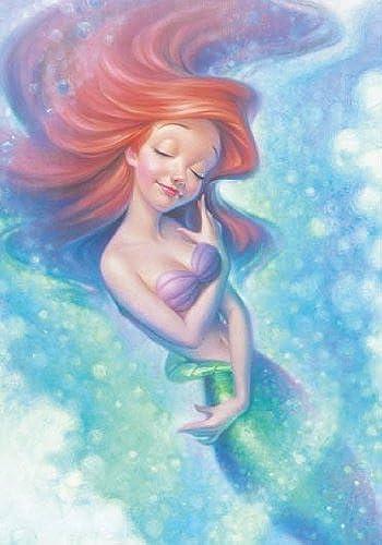 Disney Character Ariel Healing Time Jigsaw En Bracing Wright Dh-108-752