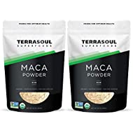 Terrasoul Superfoods Organic Raw Maca Powder, 2 Lbs - Premium Quality   Supports Increased Stamina & Energy