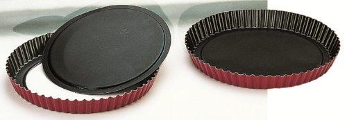 Ibili 356228 Moule à tarte dentelé Venus avec fond amovible 28cm