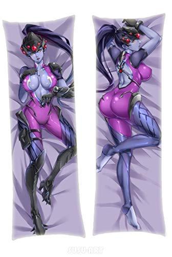 SUSUFAIRY Widowmaker Overwatch 150x50cm Peach Skin Body Pillowcase Cover