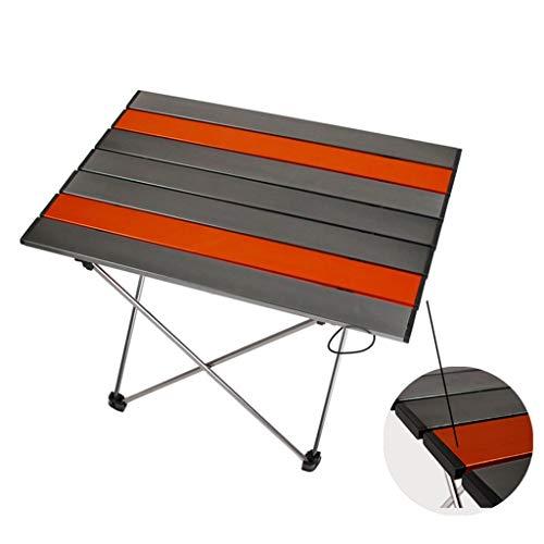 RLY Klapptisch, Picknicktisch Im Freien Tragbarer Klapptisch Aluminium Camping Tischgrilltisch (Size : M)