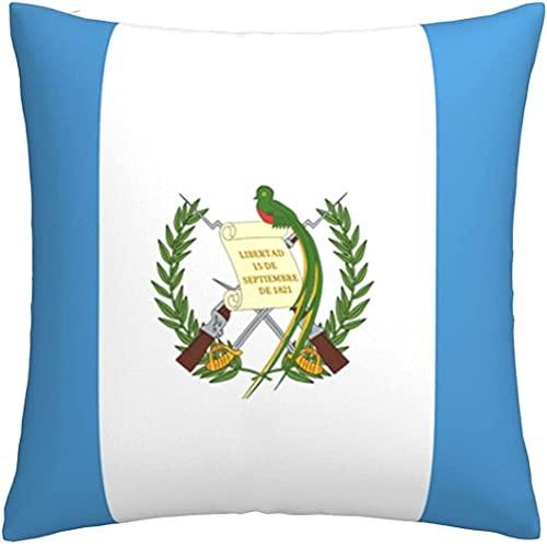 Kissenbezug mit Flagge von Guatemala, für Wohnzimmer, weich, solide Kissenhülle für Sofa, Schlafzimmer