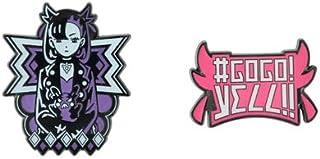 ポケモンセンターオリジナル ピンズ #GOGO!YELL!! マリィ&モルペコ