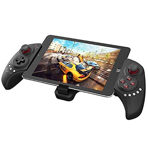 QCHEA Controlador de Juegos, Joystick de Controlador inalámbrico, Controlador de Juegos de teléfono Bluetooth telescópico, Este es uno de los Mejores Controladores Disponibles for Android/iOS