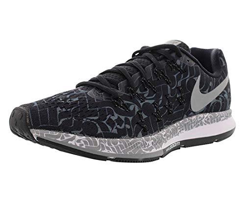 Nike Women's Air Zoom Pegasus 33 Rostarr Running Shoe 859892-001 Black/White (10)