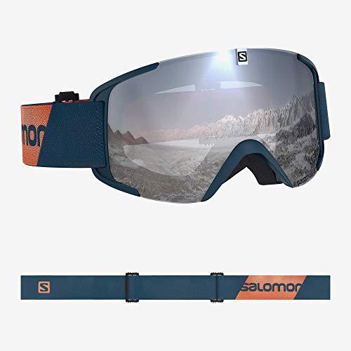 Salomon, Xview, Gafas de esquí unisex, Azul (Moroccan Blue/Universal Super White), L40519100