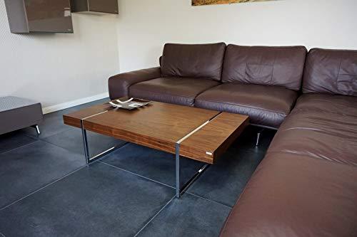 Carl Svensson Design Couchtisch Tisch Wohnzimmertisch S-111 (Nussbaum-Walnuss)