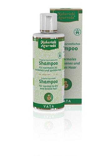 Maharishi Ayurveda Vata Shampoo, 200 ml, Ayurvedisches Kräuter-Shampoo, 100 % naturrein