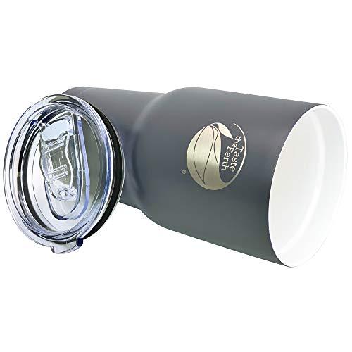 Ceramic Travel Mug Tumbler Thermos - Gen2.5 Large 30oz premium ceramic coated travel mug. Dishwasher safe. THE ORIGINAL Taste Lock ceramic coating. Double wall insulated with lid.