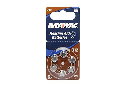 Batteriesatz kompatibel Ino Mini-HDO Ino Ex-Hörer Ex-Hörer-Mini Hörgerät 1,45V