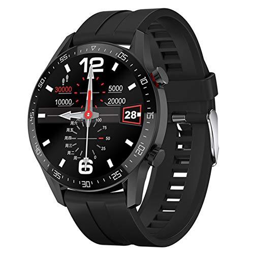 DKM Sports Smart Watch Men's Bluetooth Llamada A La Marca Personalizada Pantalla Táctil Impermeable Reloj Inteligente Reloj De Corazón Rastro Deportivo Fitness Tracker para Android iOS,D