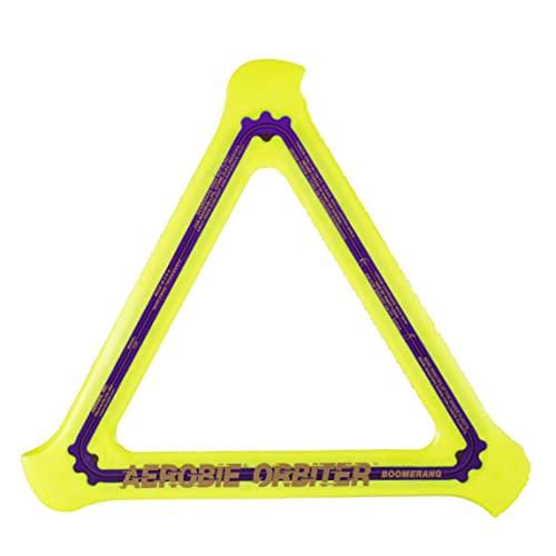 Aerobie Orbiter High Performance Boomerang, 11.5 Inches, Yellow