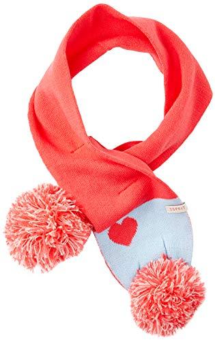 ESPRIT KIDS Rp9001107 Knit Scarf Echarpe, Rose (Strawberry 342), Unique (Taille Fabricant: 1SIZE) Bébé Fille