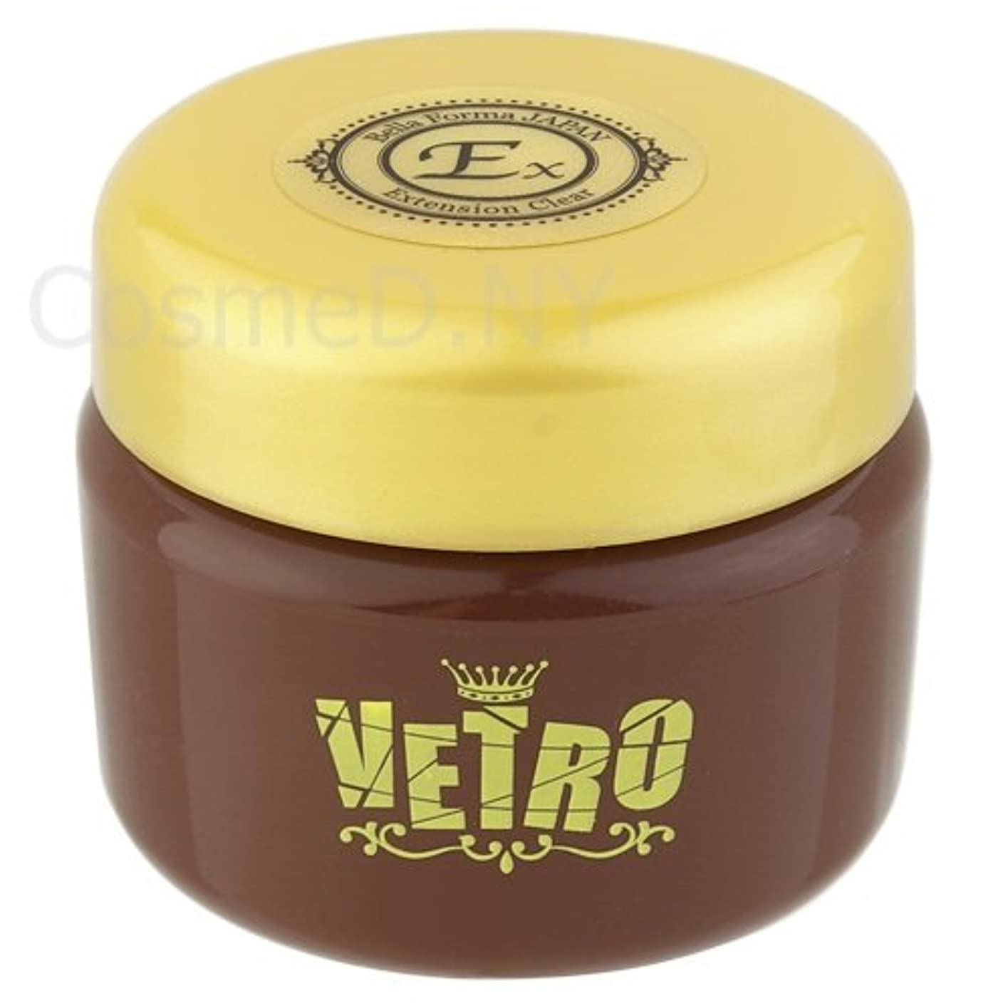 ビデオ月曜成長VETRO VCL-025イクステンションクリア25ml 長さ出しジェル UV/LED対応