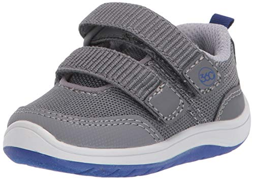 Stride Rite 360 Boy's Dash Dual Width Insole Athletic Sneaker, Grey, 5.5 M US Toddler