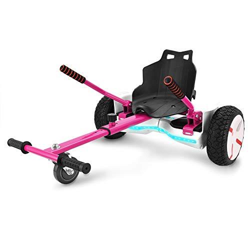 Wilder Wolf Hoverkart Go-Kart Kit Patinete Eléctrico, Longitud Ajustable, Compatible con Hoverboards...