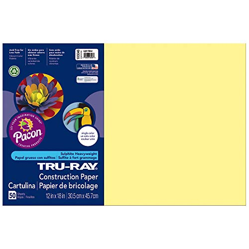 yellow drawing paper - 8