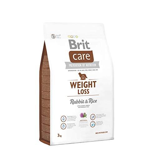 Brit Care Weight Loss al Coniglio e Riso - Ipoallergenico per Cani in sovrappeso - 3 kg