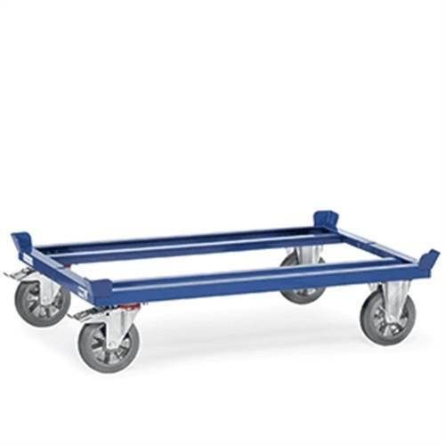 Palettenfahrgestell mit Polyamid-Räder, Tragkraft 1.000 kg