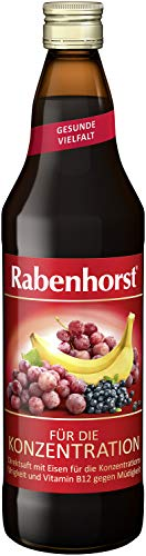 Rabenhorst Für die Konzentration, 6er Pack (6 x 700 ml)