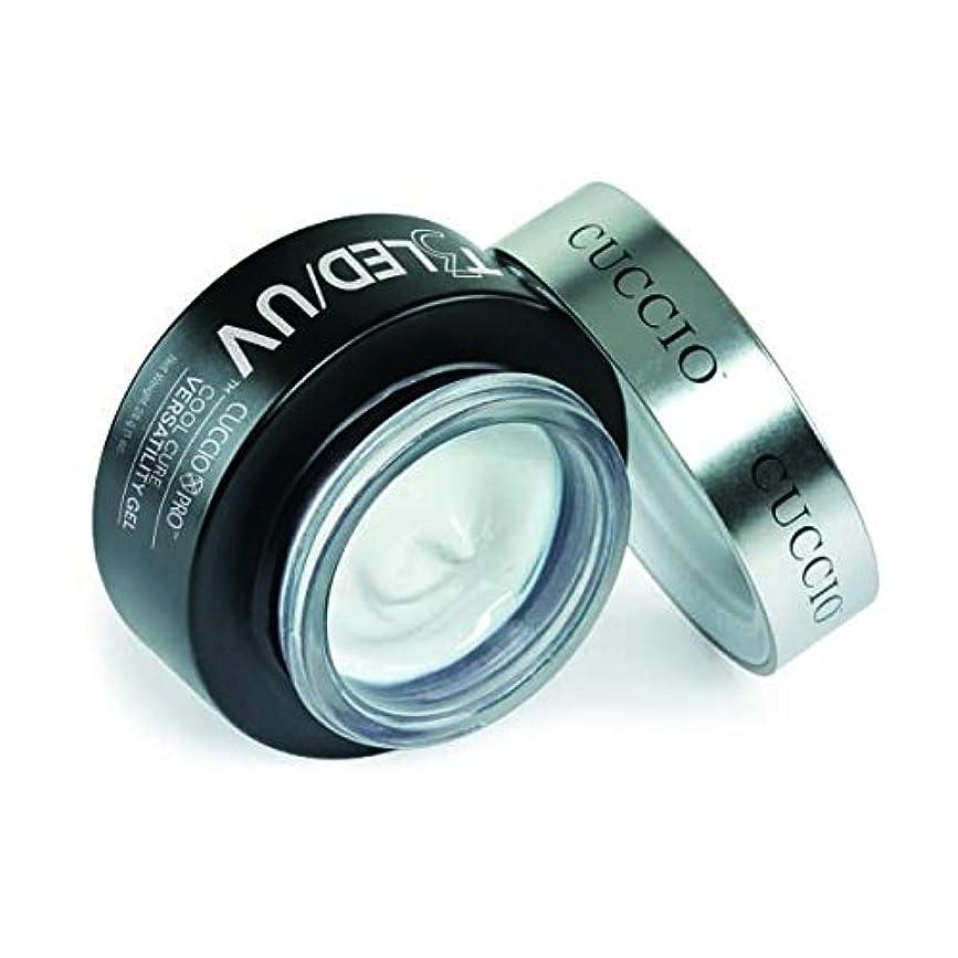 揺れる無臭困惑したCuccio Pro - T3 LED/UV Self- Leveling Gel - Clear - 2oz / 56g