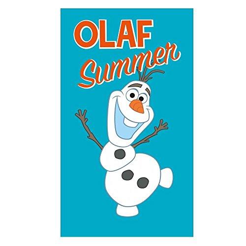 La Reine des Neiges - Disney Frozen - Serviette Sortie drap de Bain Enfants Summer - Taille 70x120 cm