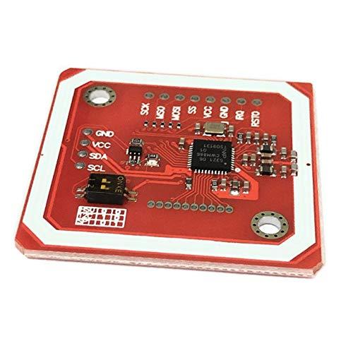 PN532 NFC RFID-Wireless-Modul V3-Benutzer-Kits Reader-Writer-Modus IC S50-Karten-PCB-Attennennennennummer I2C IIC SPI HSU für Arduino ( Color : Single Module )